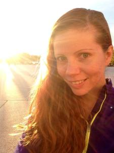 Sunset selfie. The weather is going to be FANTASTIC this weekend.
