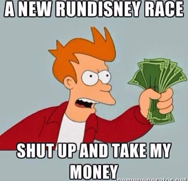 rundisney money